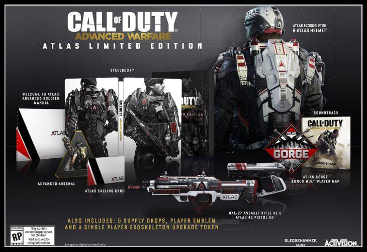 Call of Duty Advanced Warfare Map Atlas Gorge
