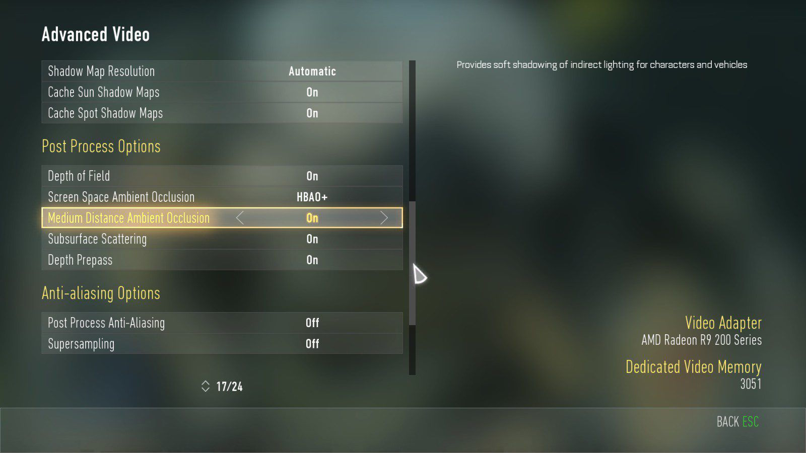 Call of Duty Advanced Warfare Grafik Ayarları