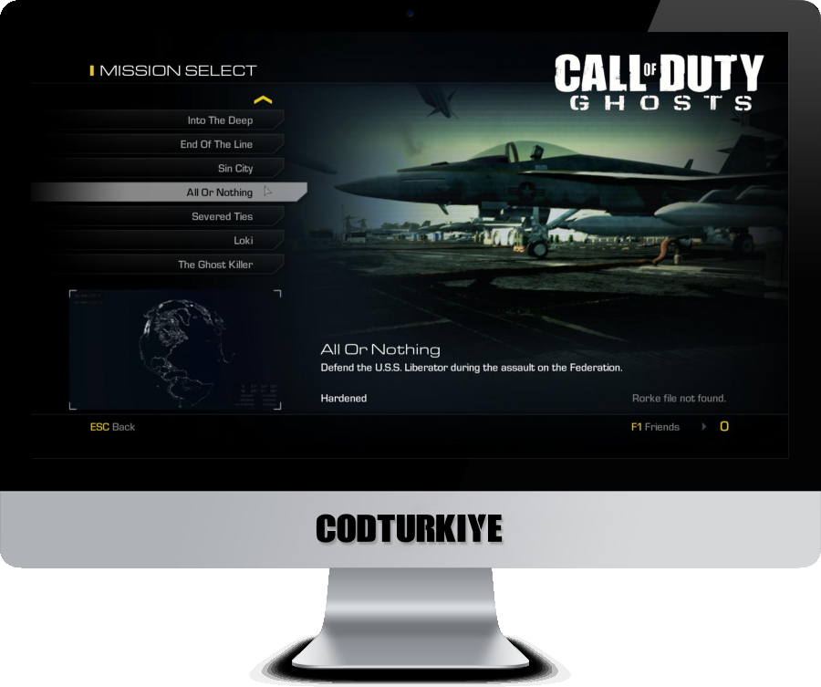 Call of Duty Ghosts 32-Bit O/S