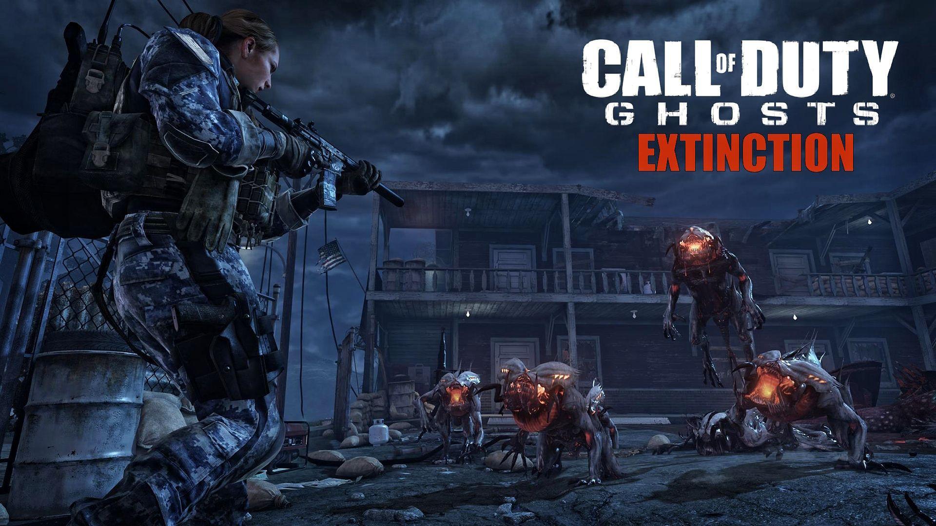 Call of Duty Ghosts Extinction Oynama