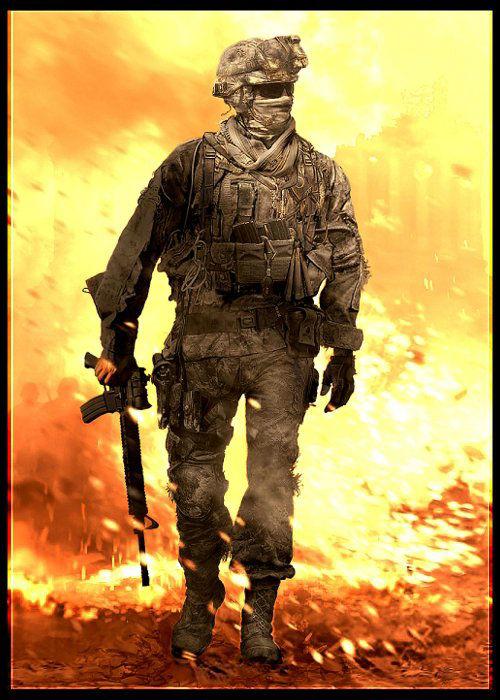Call of Duty Modern Warfare Serisi Karakteri James Ramirez