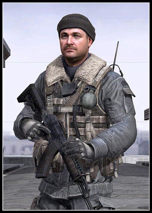 Call of Duty Modern Warfare Serisi Karakteri Kamarov