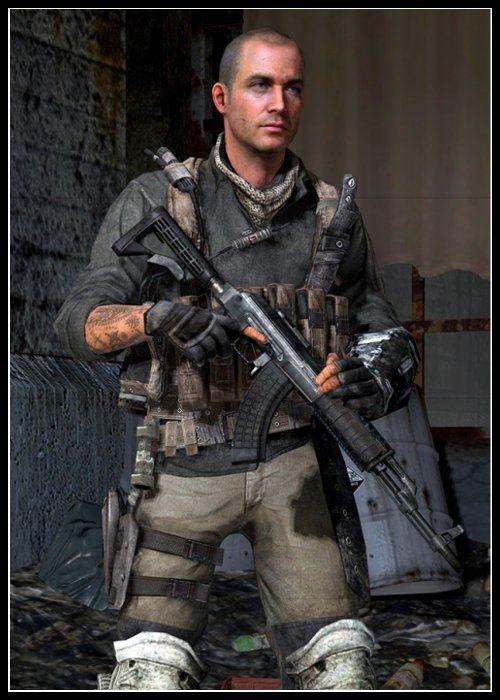 Call of Duty Modern Warfare Serisi Karakteri Yuri