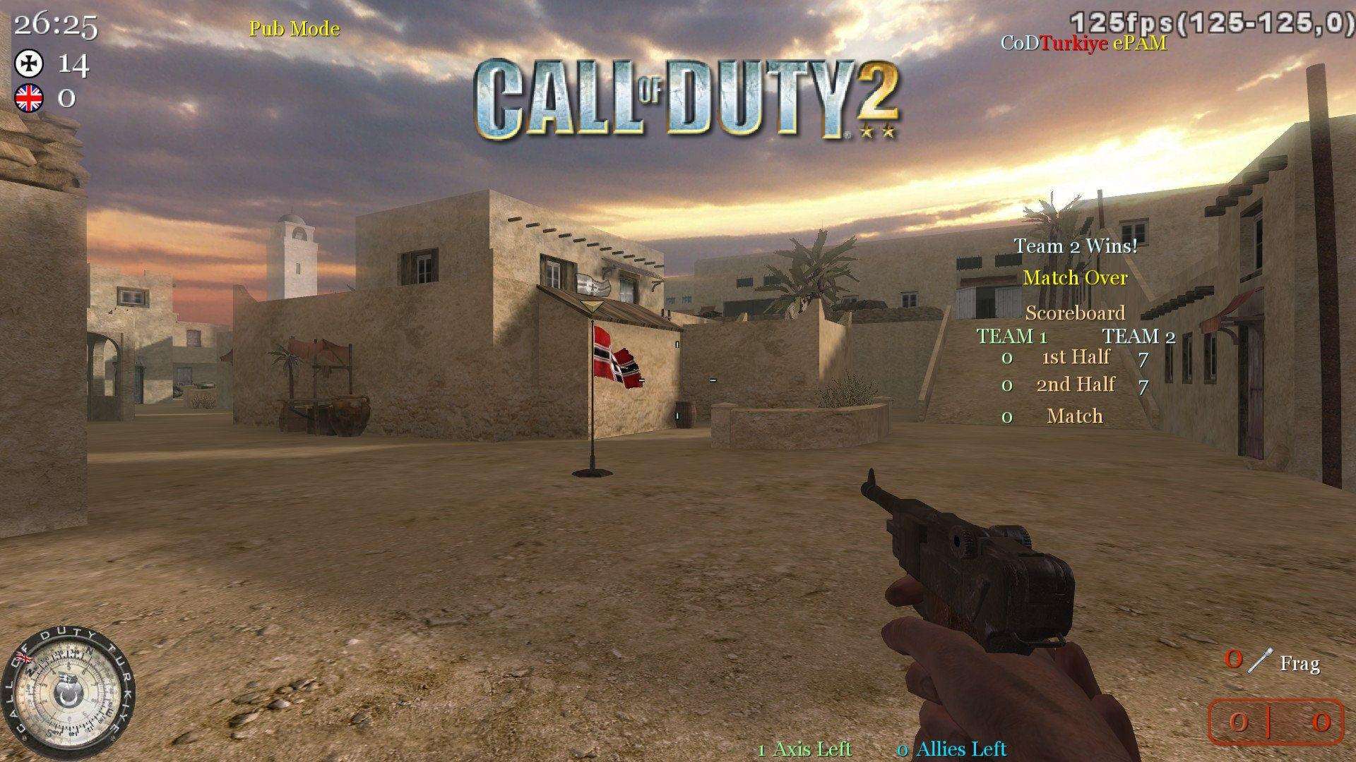 Call of Duty 2 Ankara'lı Rakipler Aranıyor