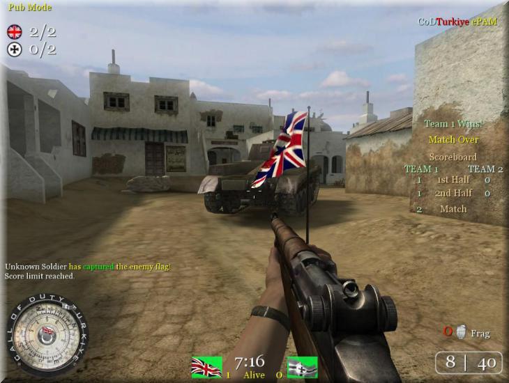 Call of Duty 2 ePAM Mod Ekran Görüntüsü