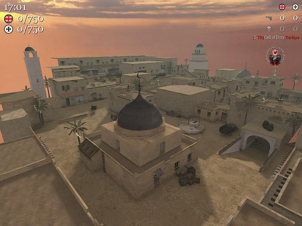 Call of Duty 2 Maps Tobruk