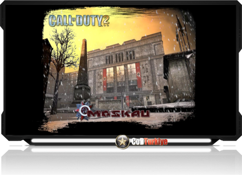 Call of Duty 2 Map Moscow, Russia
