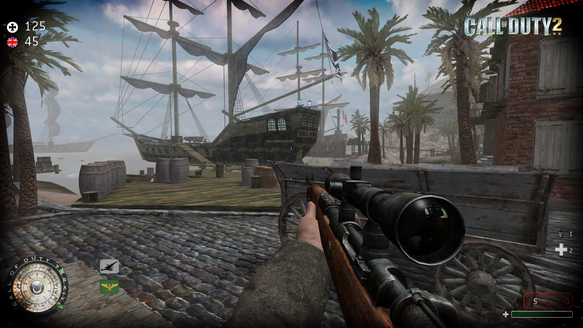 Call of Duty 2 Mtl Pirates Day Map İndir