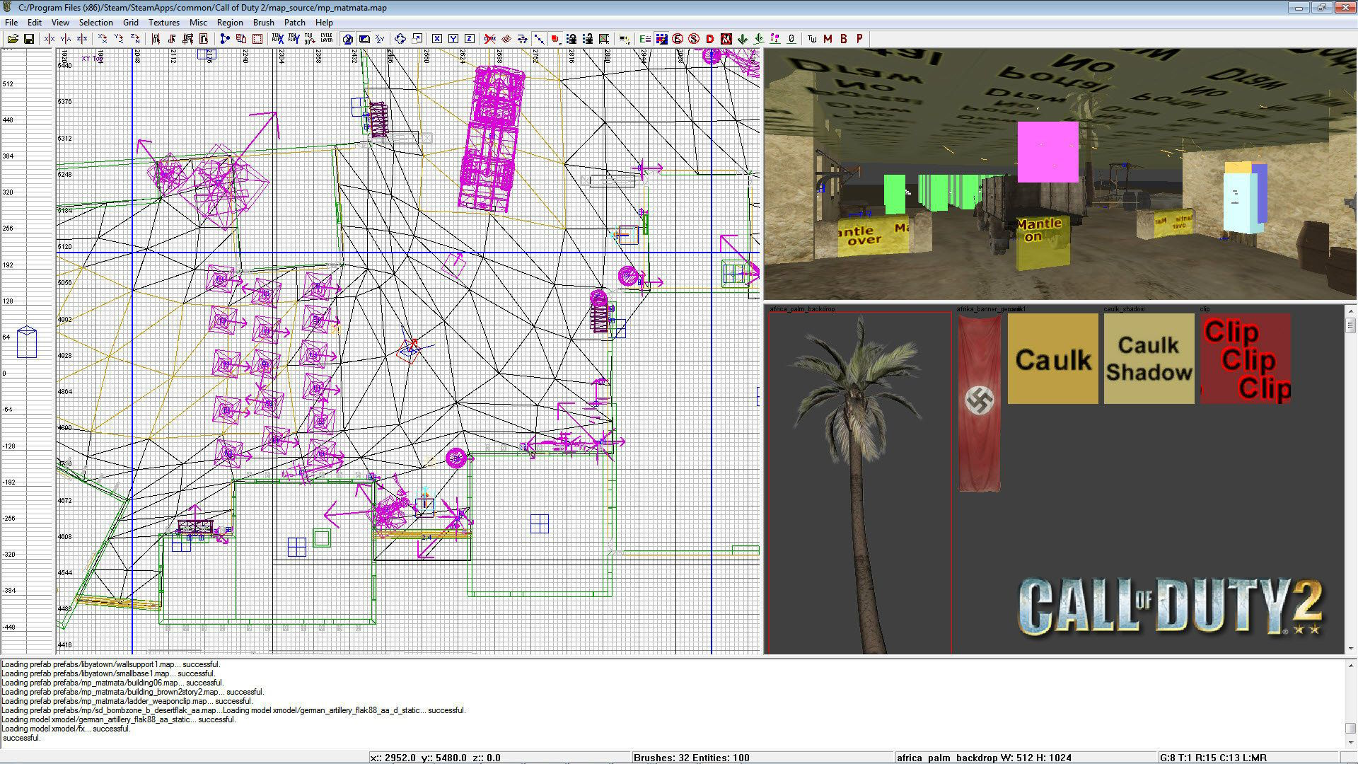 Call of Duty 2 Radiant Map Maker
