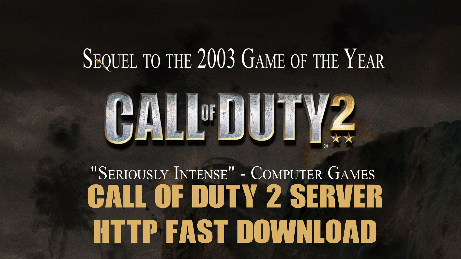 Call of Duty 2 Server Fast Download