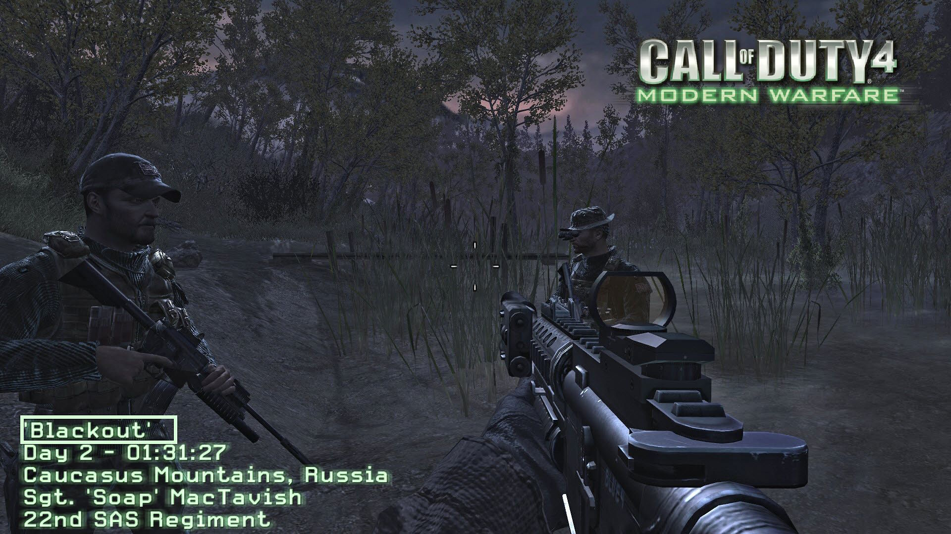 Call of Duty 4 Blackout.ff Hatası