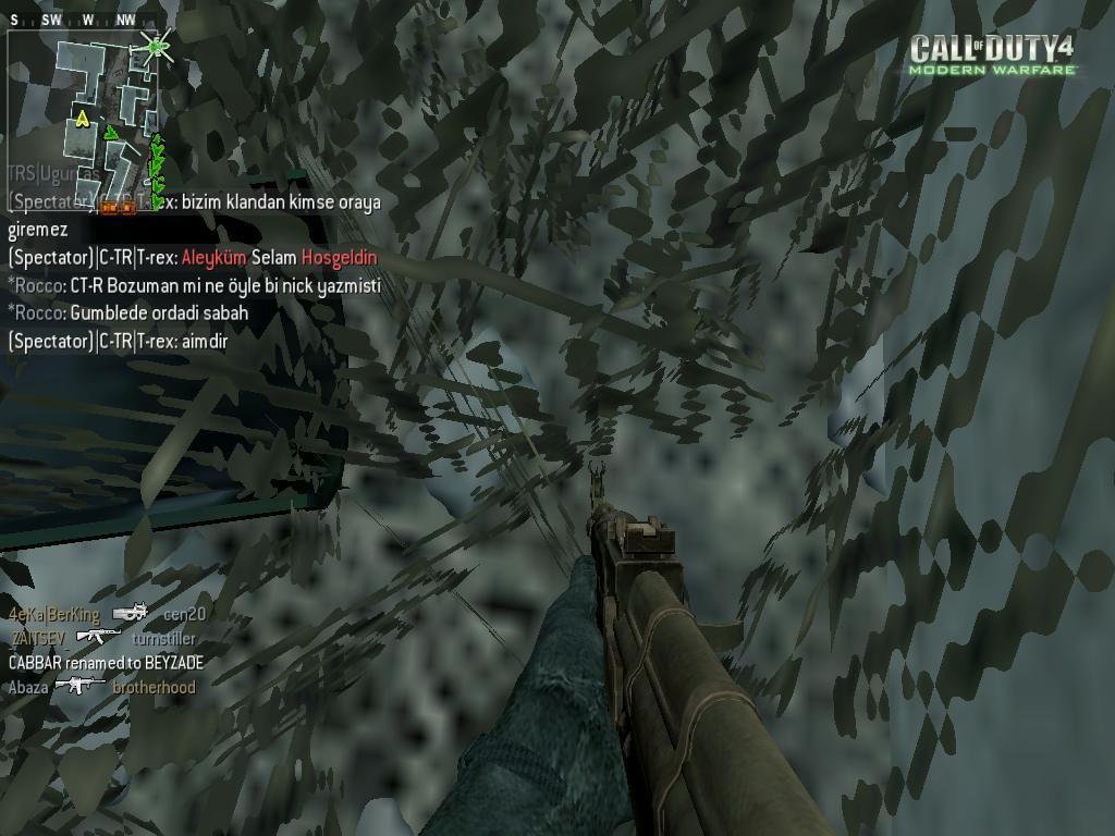 Call of Duty 4 Komik Resim Bonzi Demek İstedi
