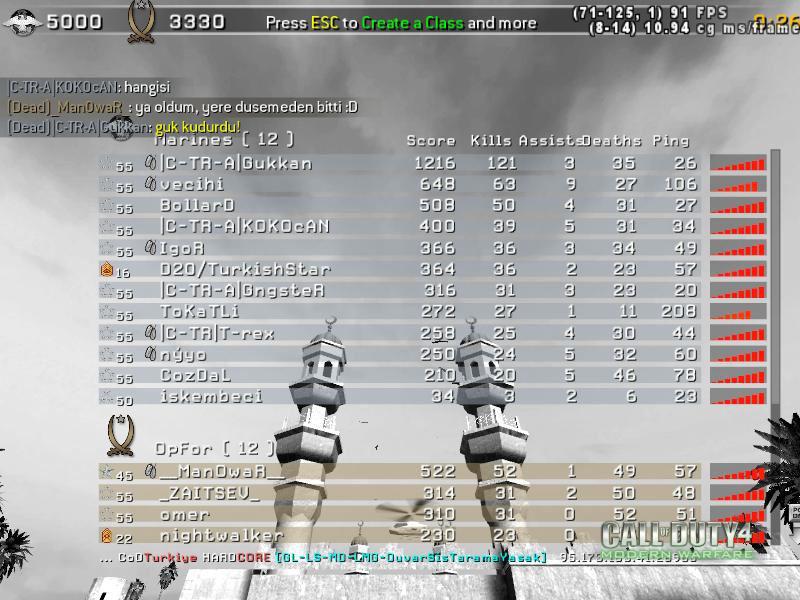 Call of Duty 4 Gameplay Gukkan Kudurdu-3