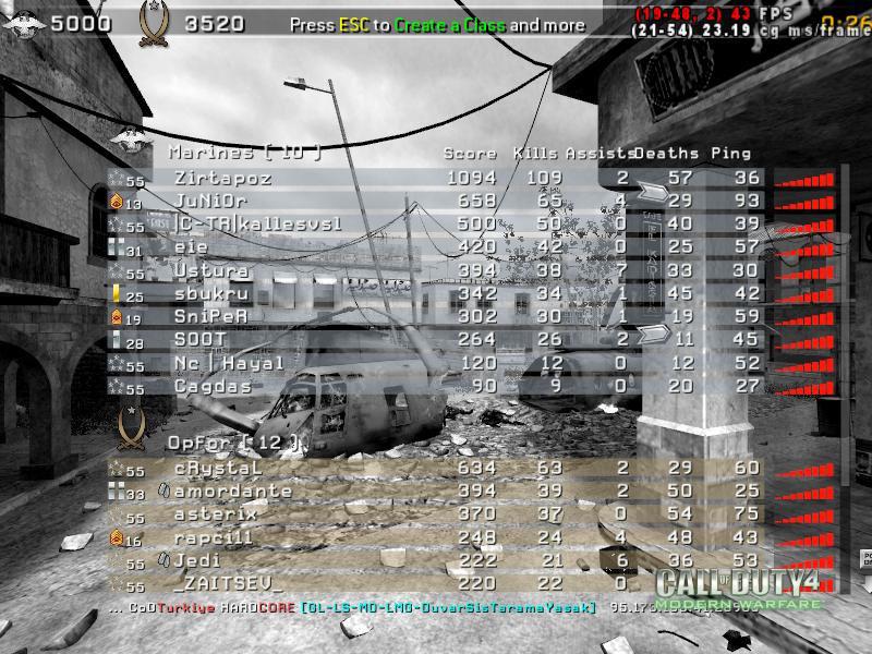 Call of Duty 4 Gameplay Gukkan Kudurdu-4