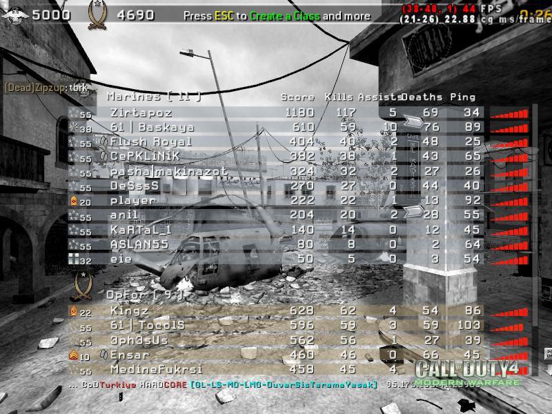 Call of Duty 4 Gameplay Gukkan Kudurdu-5