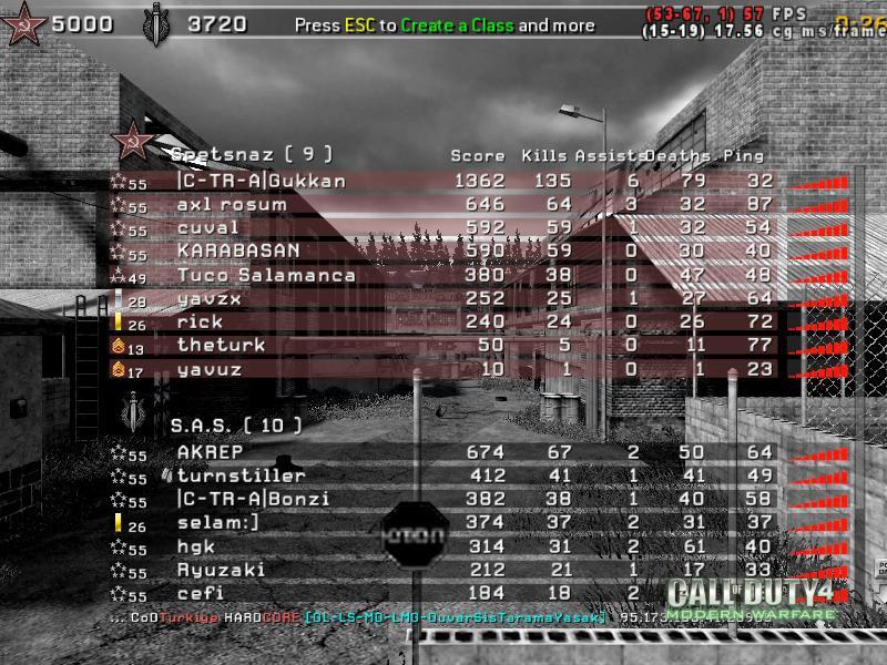 Call of Duty 4 Gameplay Gukkan Kudurdu-6