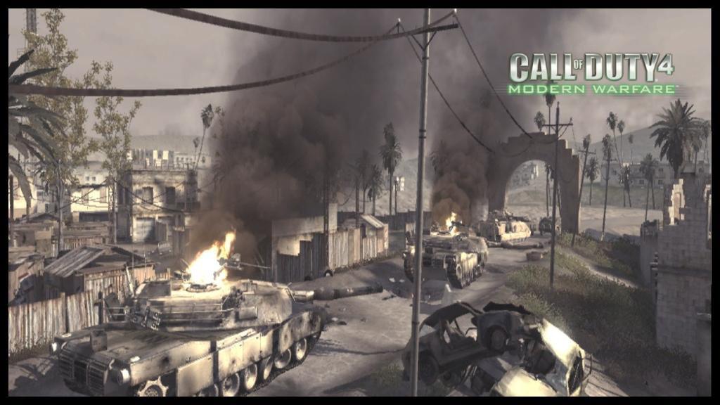 Call of Duty 4 Map Ambush (mp_convoy)