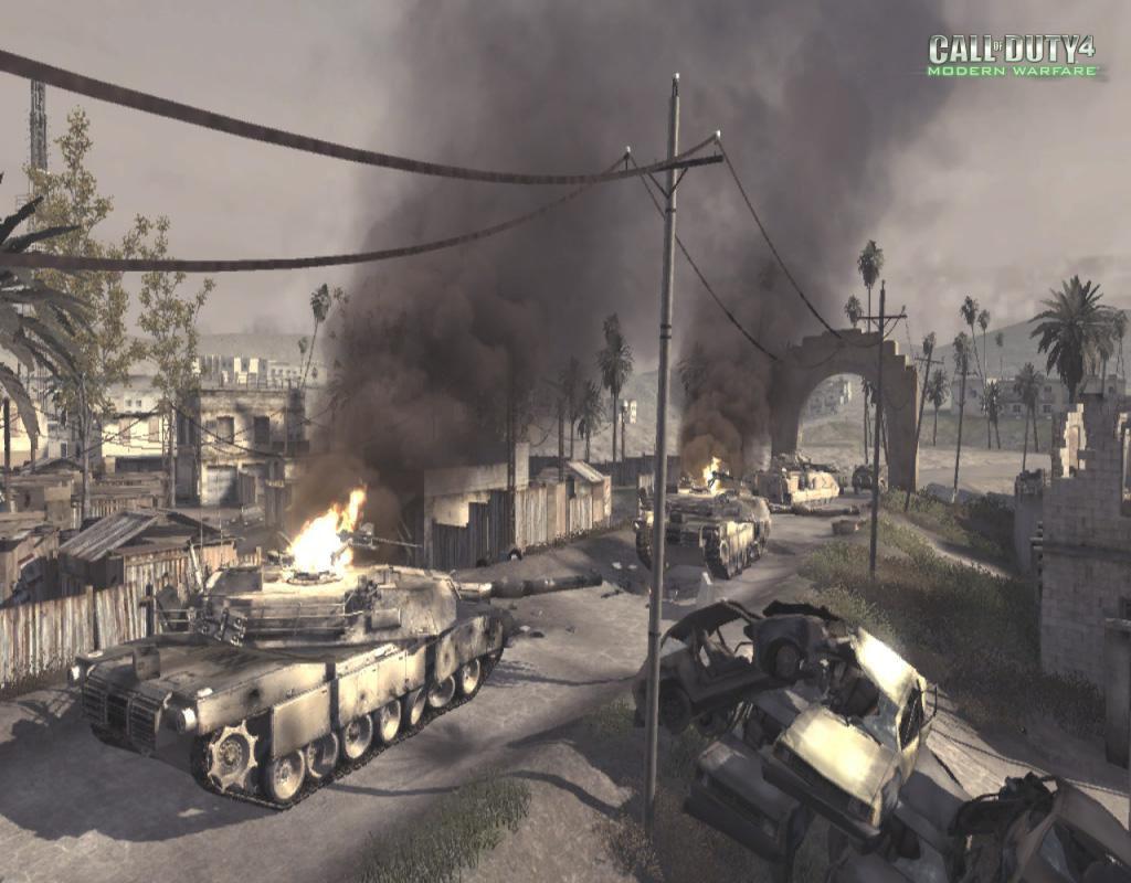 Call of Duty 4 Modern Warfare Maps Ambush