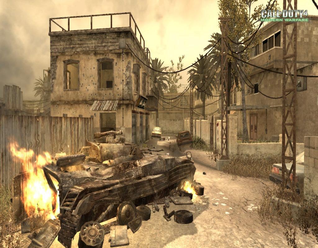 Call of Duty 4 Modern Warfare Maps Backlot