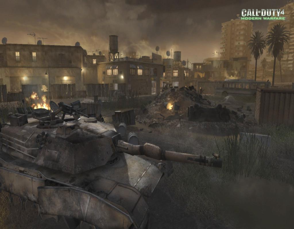 Call of Duty 4 Modern Warfare Maps Bog