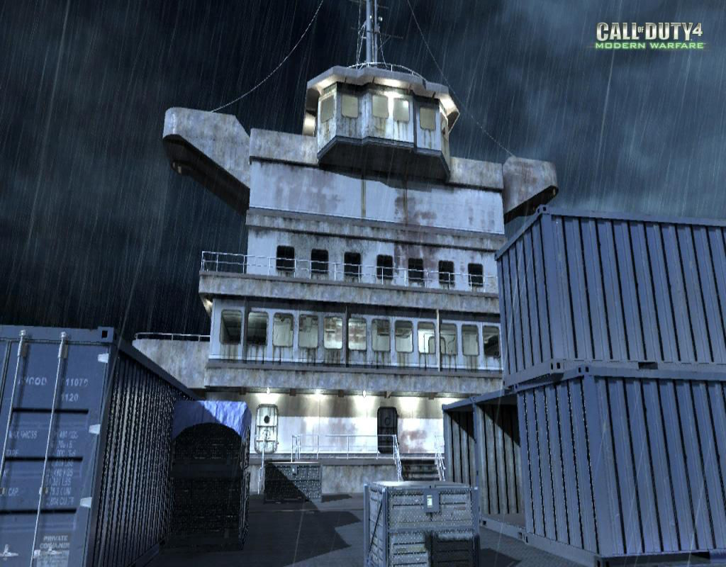 Call of Duty 4 Modern Warfare Maps Wetwork