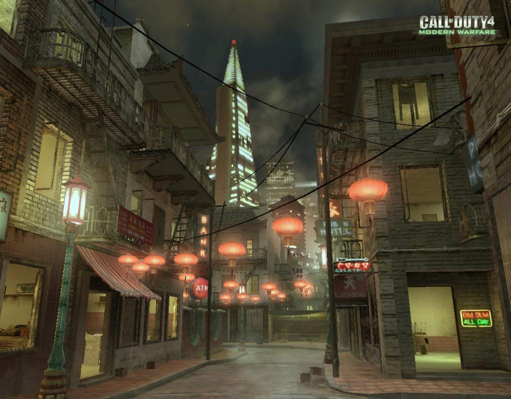 Call of Duty 4 Modern Warfare Maps Chinatown