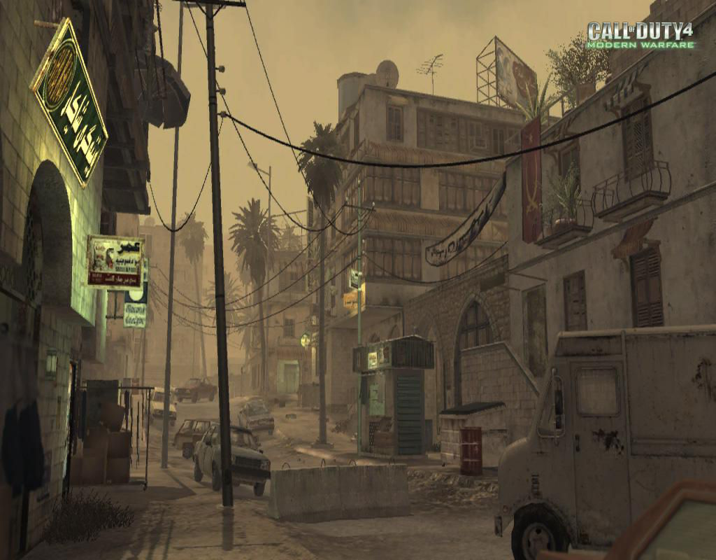 Call of Duty 4 Modern Warfare Maps District