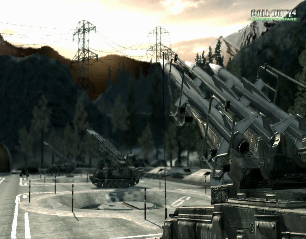 Call of Duty 4 Modern Warfare Maps Countdown