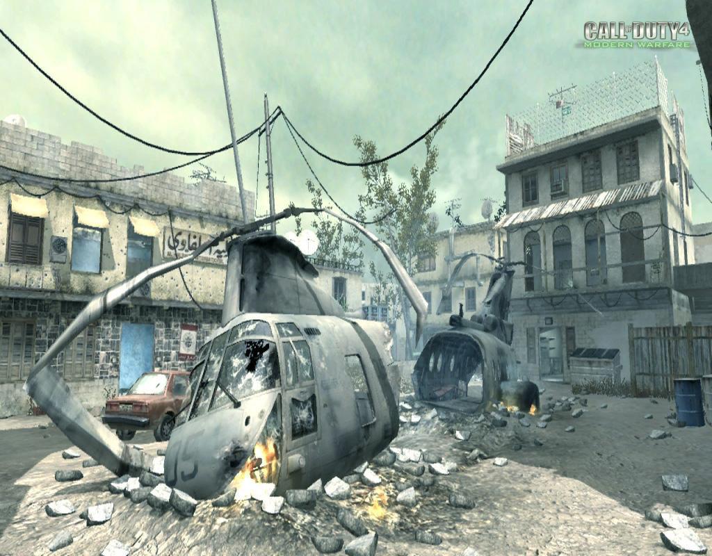 Call of Duty 4 Modern Warfare Maps Crash