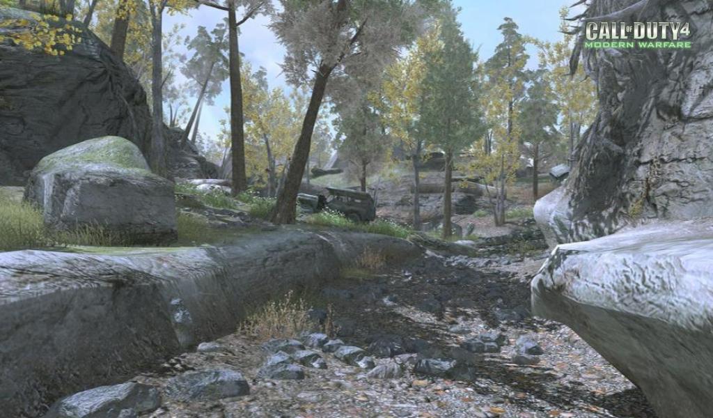 Call of Duty 4 Modern Warfare Maps Creek