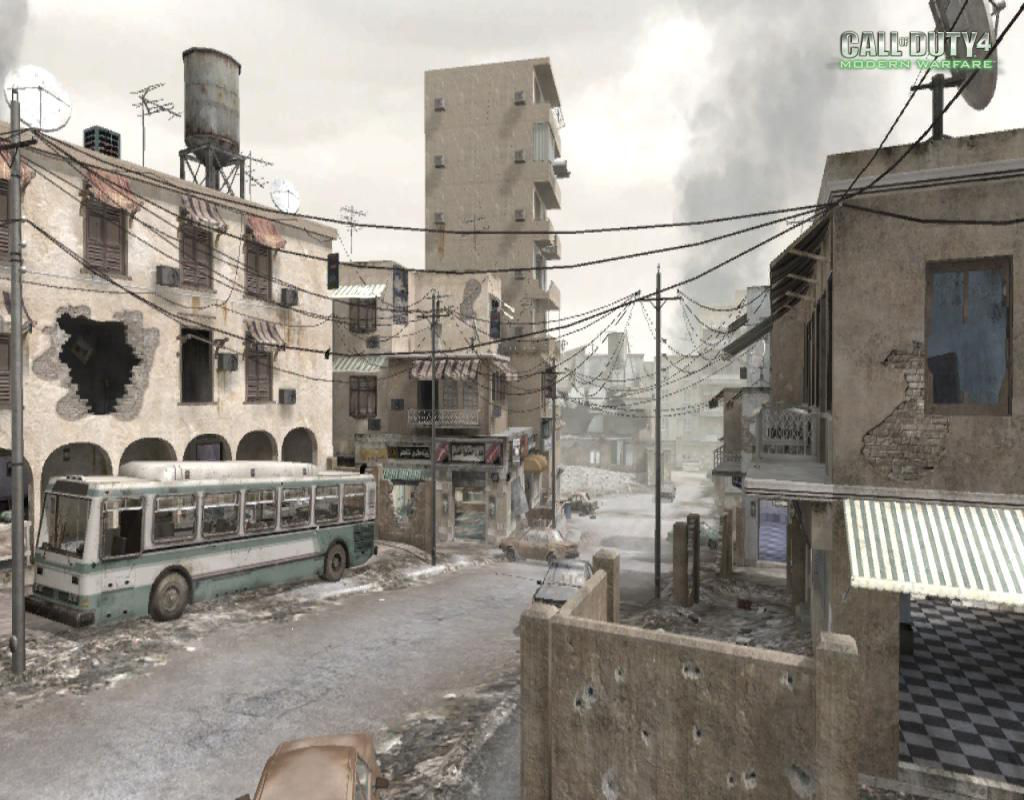 Call of Duty 4 Modern Warfare Maps Crossfire