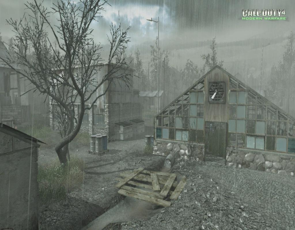 Call of Duty 4 Modern Warfare Maps Downpour