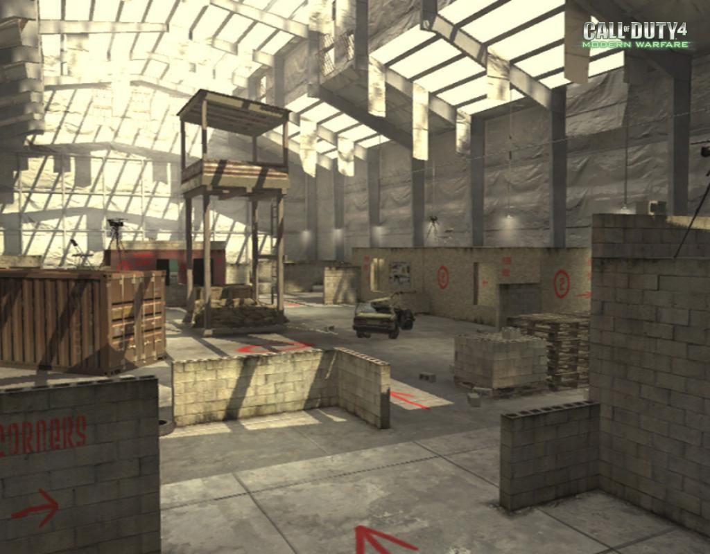 Call of Duty 4 Modern Warfare Maps Killhouse