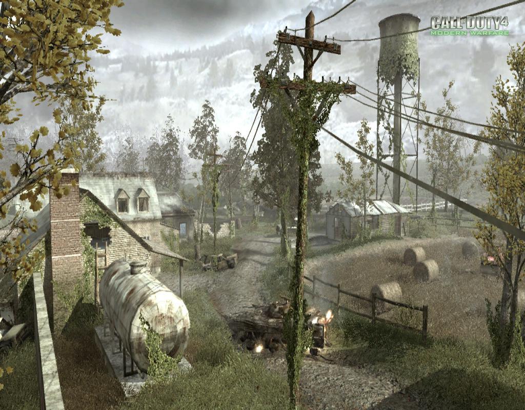 Call of Duty 4 Modern Warfare Maps Overgrown