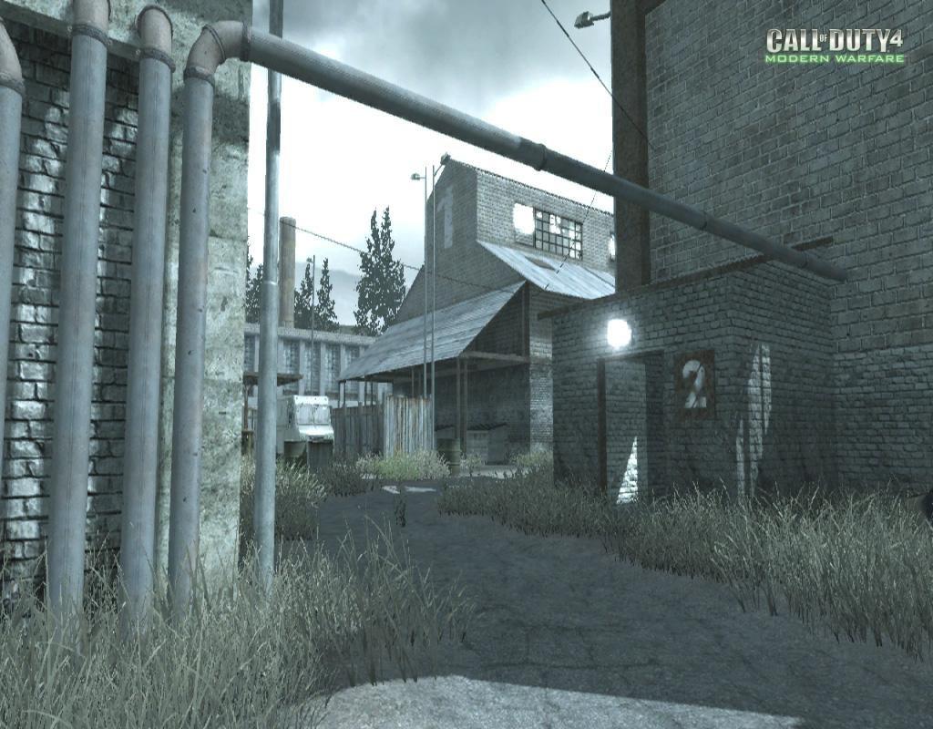 Call of Duty 4 Modern Warfare Maps Pipeline