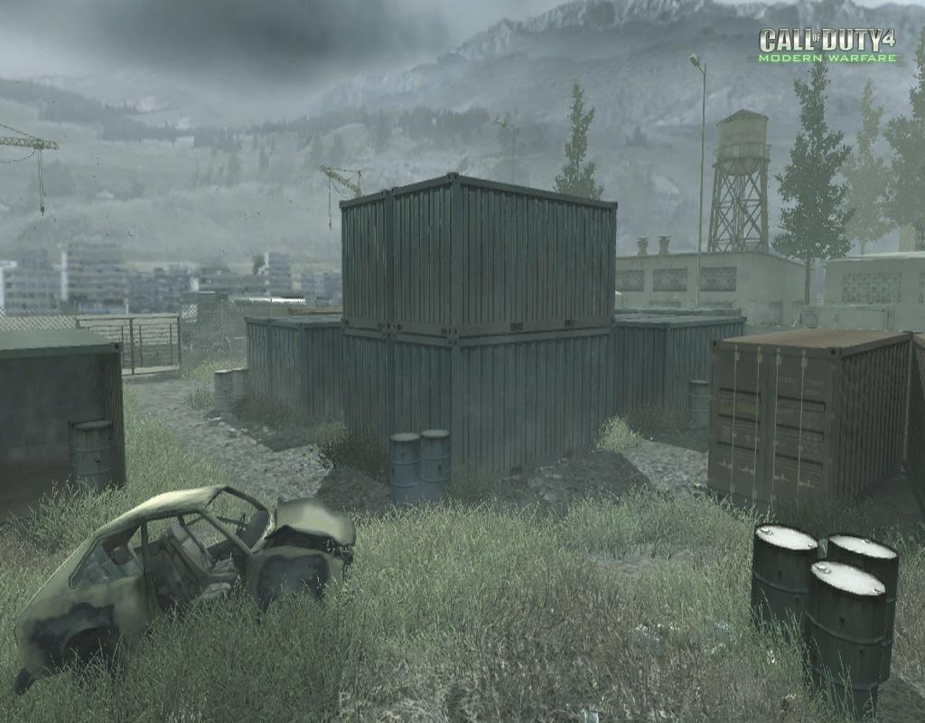 Call of Duty 4 Modern Warfare Maps Shipment