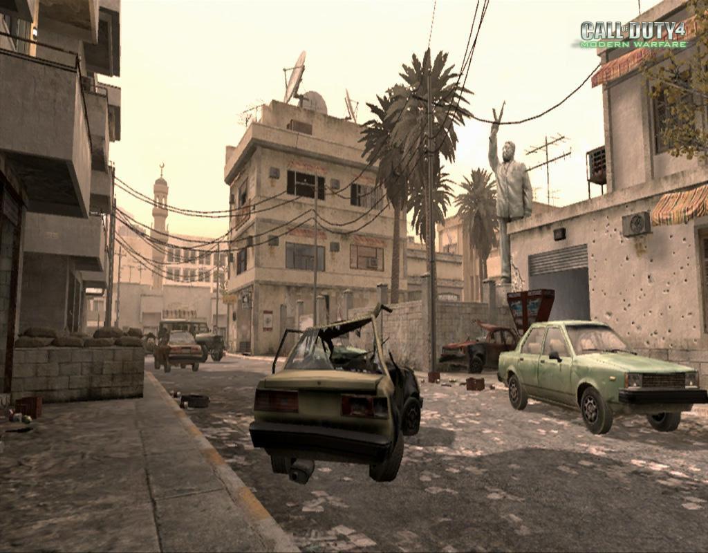 Call of Duty 4 Modern Warfare Maps Strike