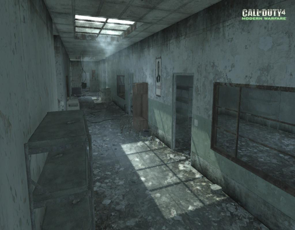 Call of Duty 4 Modern Warfare Maps Vacant