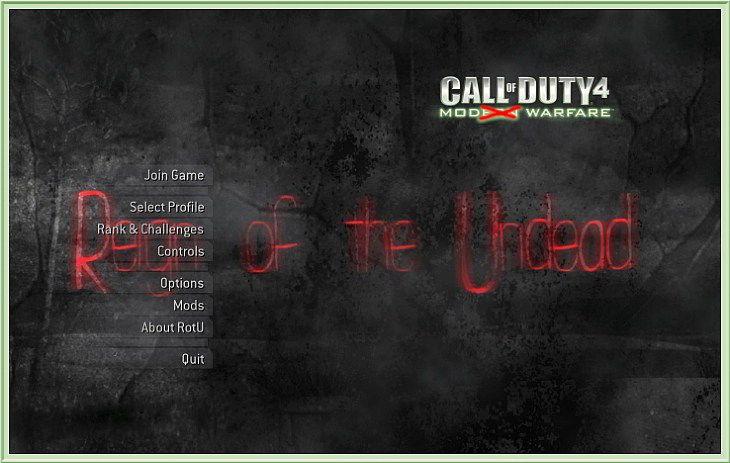 Call of Duty 4 RotU2 Zombie Mod El Kitabı - Manual