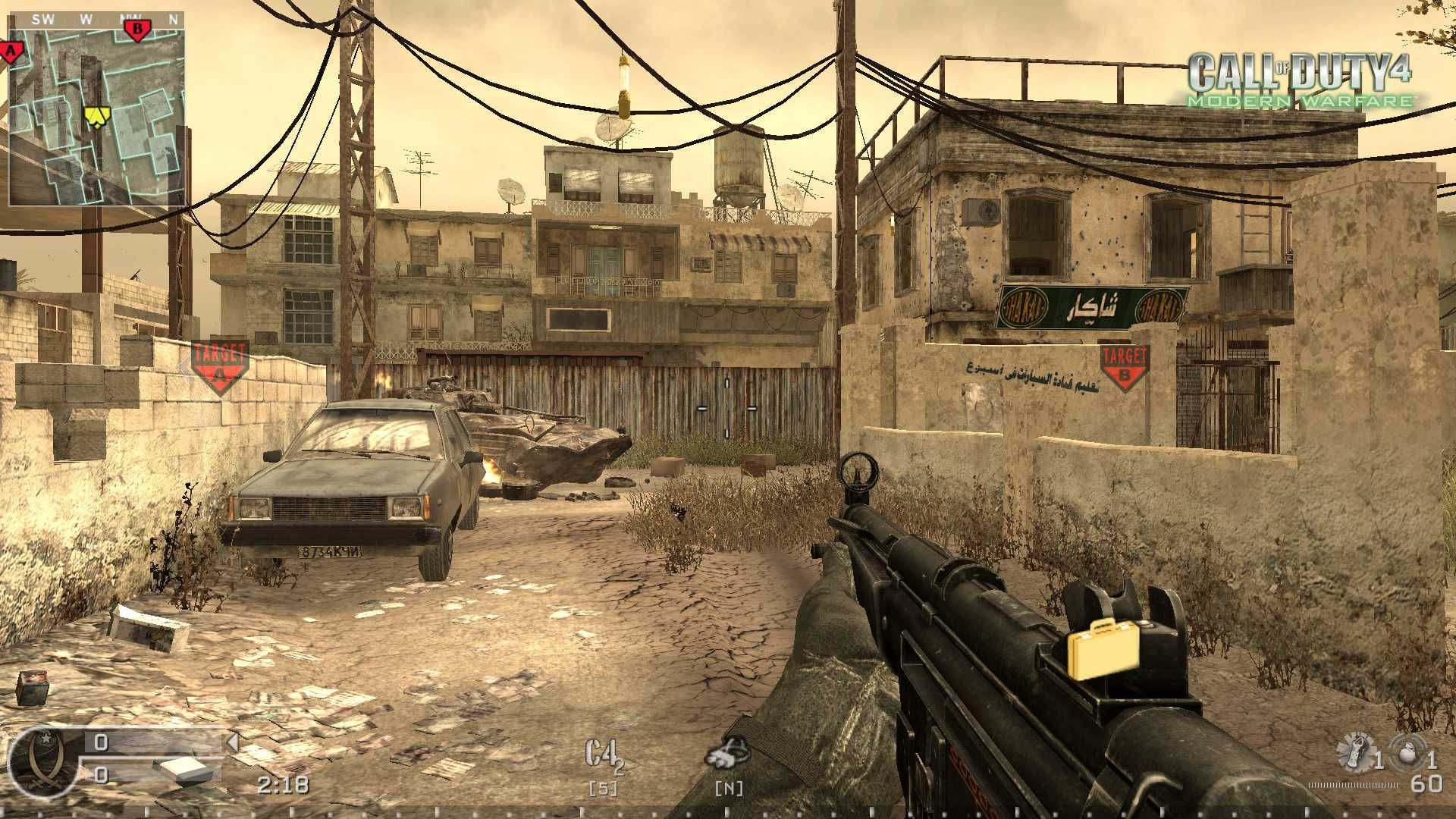 Call of Duty 4 SD Server Ayarları