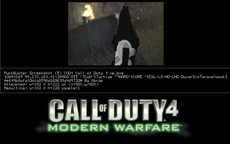 Call of Duty 4 Skin Screenshot