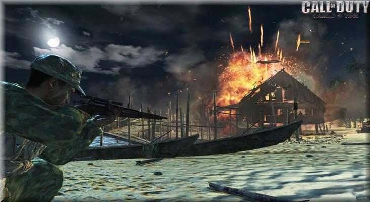 Call of Duty 5 World At War Botlarla Oynamak