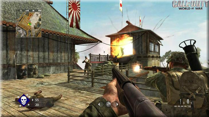 Call of Duty 5 World At War Co-Op Gameplay