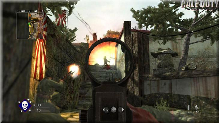 Call of Duty 5 World At War Co-Op in Game