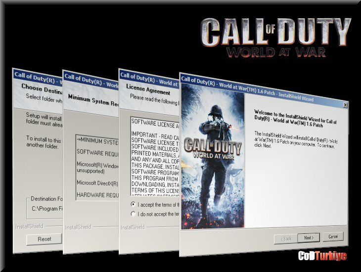 Call of Duty 5 World at War Patch v.1.6