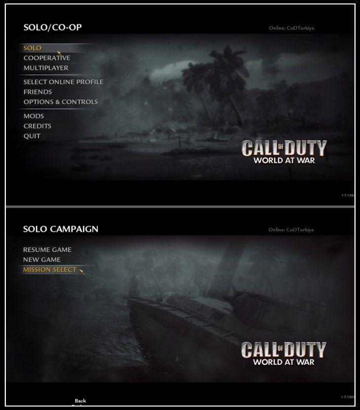 Call of Duty 5 World at War Save Game indir