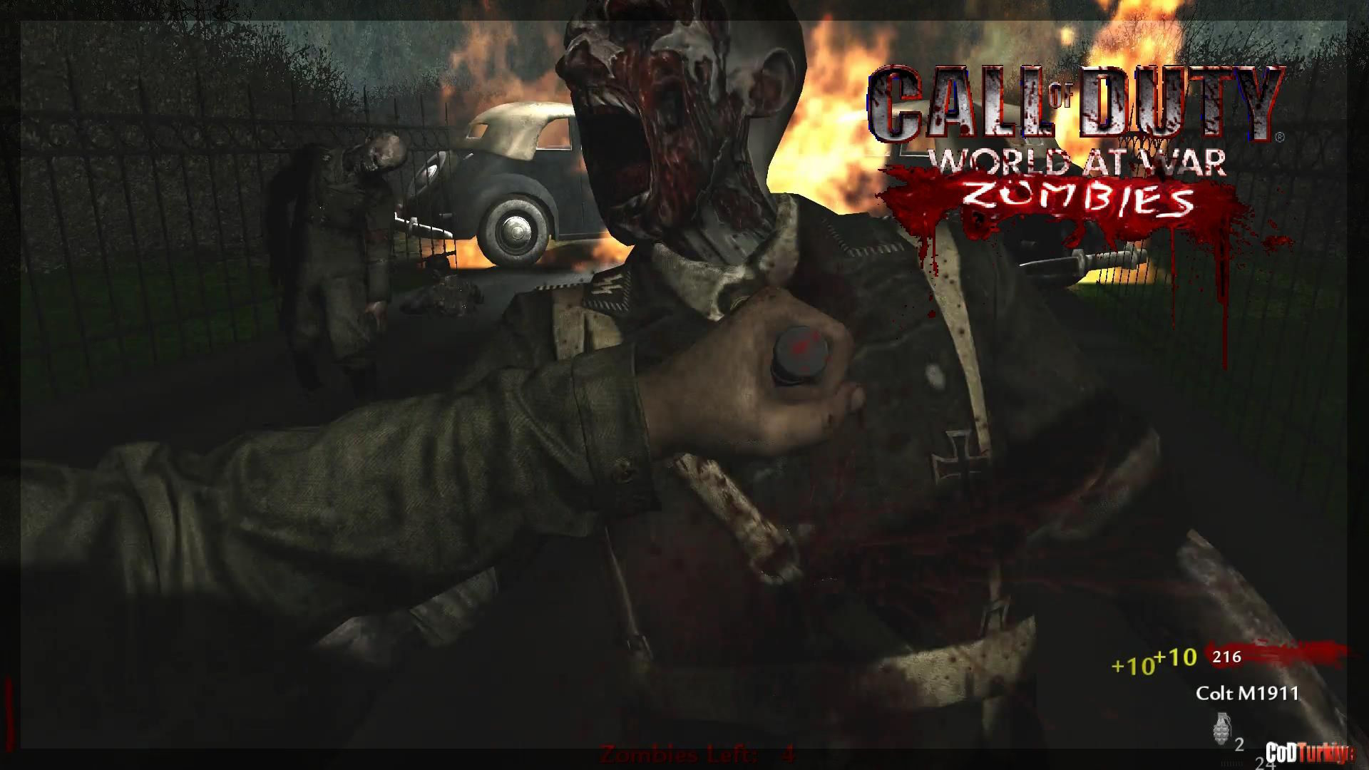 Call of Duty 5 World at War Zombies Map zm_camping