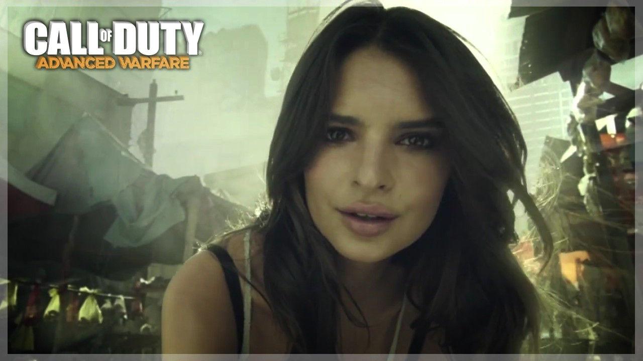 Call of Duty Advanced Warfare Emily Ratajkowski