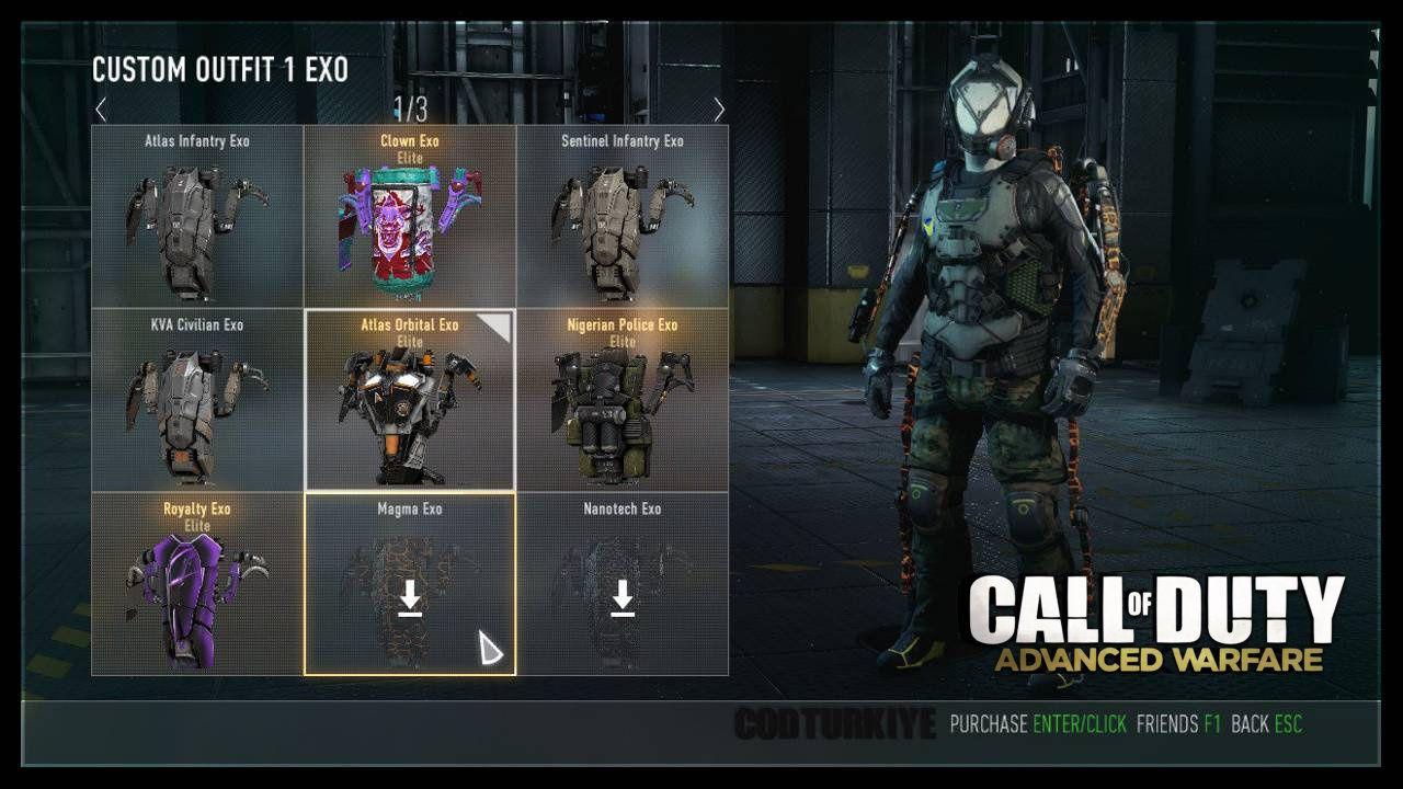Call of Duty Advanced Warfare Magma Premium Personalization Pack DLC Hatası