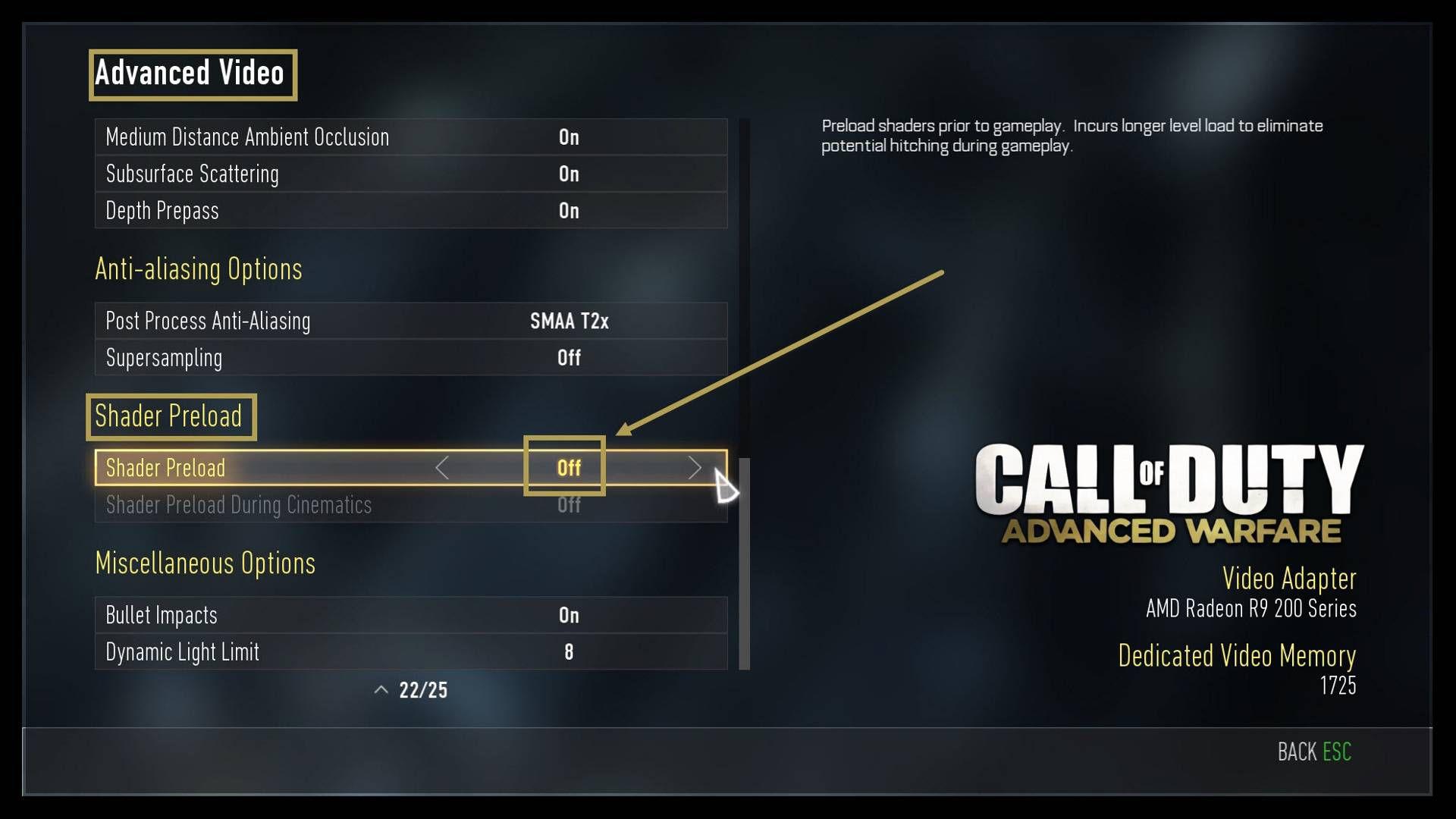 Call of Duty Advanced Warfare Direct3DDevice: Present Failed: (error 0x887a0005) Hatası